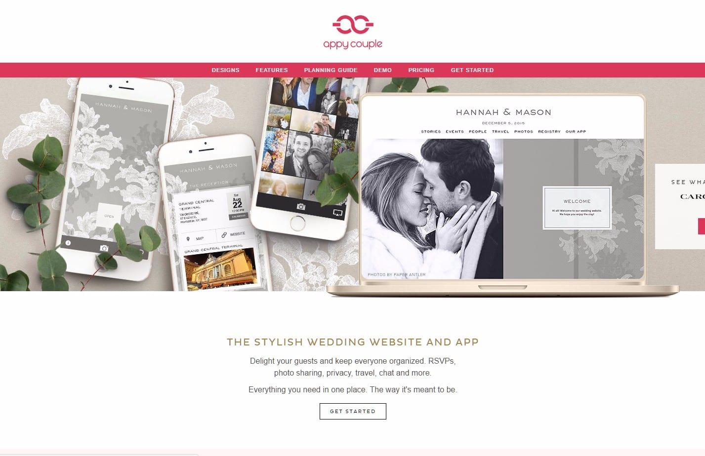 Appy Couple Wedding Website App That Delights Google Chrome 4282017 83420 PMbmp