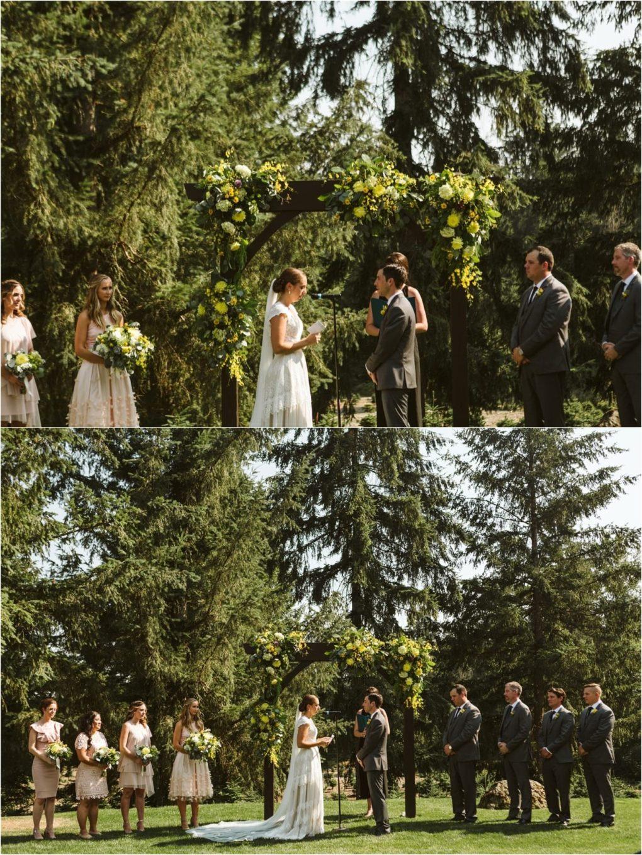 I\'ll Travel the World With You | Trinity Tree Farm Lodge Wedding ...